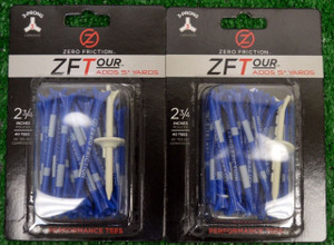 "Zero Fiction ZFTour 3 Prong Blue Golf Tees 2 3/4"" (ZT10006)"