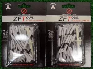 "Zero Fiction ZFTour 3 Prong White Golf Tees 2 3/4"" (ZT10012)"