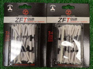 "Zero Fiction ZFTour 3 Prong White Golf Tees 3 1/4"" (ZT15003)"