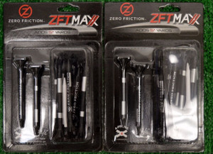 "Zero Fiction ZFVictory Maxx 4 Prong Black Golf Tees 2 3/4"" (ZX15004)"