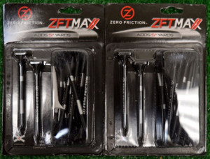 "Zero Fiction ZFT Maxx 4 Prong Black Golf Tees 3 1/4"" (ZX25004)"