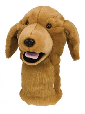 DAPHNE'S GOLDEN RETRIEVER DRIVER HEADCOVER