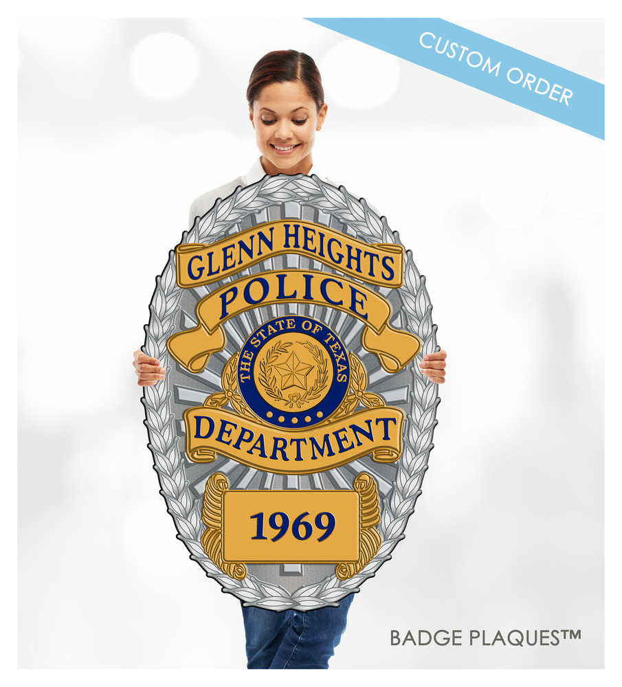 custom wall plaques law enforcement police and sheriff custom