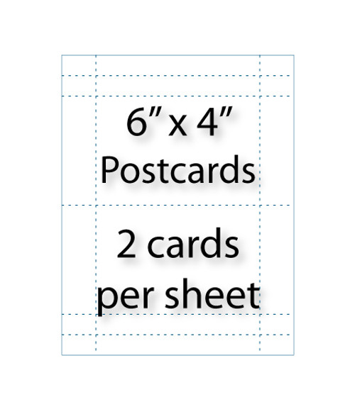 Wholesale 6x4 postcards avery 5389 compatible for 6x4 postcard template