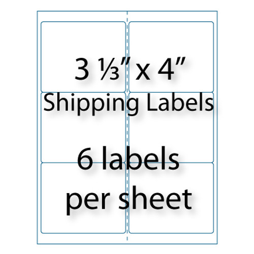 shipping labels 3 1 3 x 4 10 up avery 5164. Black Bedroom Furniture Sets. Home Design Ideas
