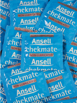 Ansell Chekmate Non-lubricated Condoms (24 loose packed) - Buy Condoms Online