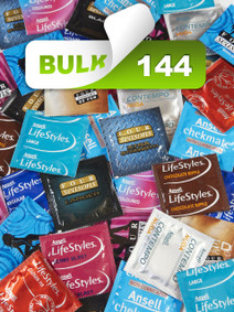 Assorted Mix Condoms (Bulk 144) - Buy Bulk Condoms Online