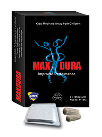 max dura 30 tablets