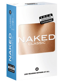 Four Seasons Naked Classic Condoms 12's