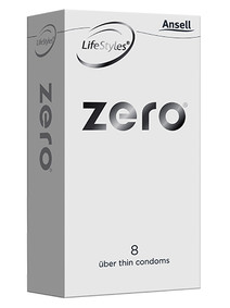 Ansell Zero Condoms 8 Pack - Buy Condoms Online
