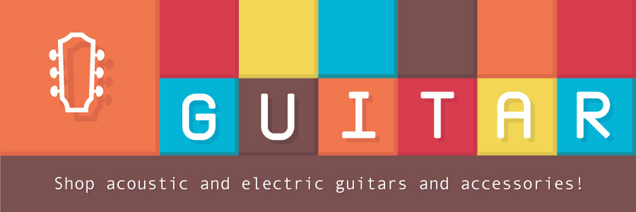 Shop acoustic and electric guitars and accessories!