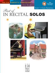 Best of In Recital Solos, Book 1