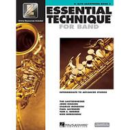 Essential Technique for Band - Intermediate to Advanced Studies: Eb Alto Saxo..