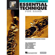 Essential Technique for Band - Intermediate to Advanced Studies: Bb Clarinet ..