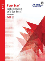 4S02 - Royal Conservatory Four Star Sight Reading and Ear Tests Level 2 Book ..