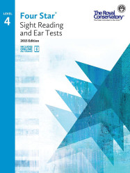 4S04 - Royal Conservatory Four Star Sight Reading and Ear Tests Level 4 Book ..
