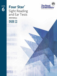 4S06 - Royal Conservatory Four Star Sight Reading and Ear Tests Level 6 Book ..