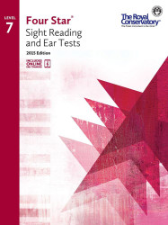 4S07 - Royal Conservatory Four Star Sight Reading and Ear Tests Level 7 Book ..