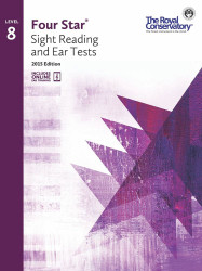 4S08 - Royal Conservatory Four Star Sight Reading and Ear Tests Level 8 Book ..