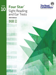 4S010 - Royal Conservatory Four Star Sight Reading and Ear Tests Level 10 Boo..