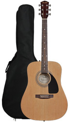 Fender FA-100 Dreadnought Acoustic Guitar with Bag - Natural