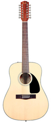 Fender CD100 12-String Classic Design Dreadnought Acoustic Guitar - Natural