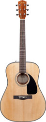 Fender DG8S Dreadnought Acoustic Guitar Package - Natural