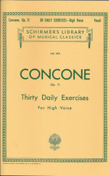 30 Daily Exercises, Op. 11 for High Voice, No. 294