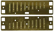 Lee Oskar Major Diatonic - Reedplates B (1910RPB)
