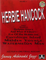 Vol. 11, Music Of Herbie Hancock - For All Insturments (Book & CD Set) Jamey ..