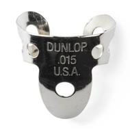 Dunlop Fingerpicks Nickel Silver .015mm 20-Pack (33R15) Front View