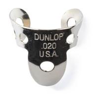 Dunlop Fingerpicks Nickel Silver .020mm 20-Pack (33R20) front View