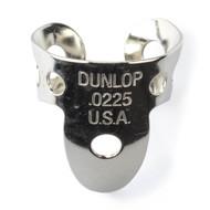 Dunlop Fingerpicks Nickel Silver .0225mm 20-Pack (33R22) Front View