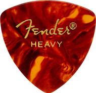 Fender 346 Classic Celluloid Guitar Picks 72-Pack - Shell - Heavy (346HS)