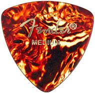 Fender 346 Classic Celluloid Guitar Picks 72-Pack - Shell - Medium (346MS)