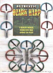 Jaw Harp Ozark Card of 12 (3485)