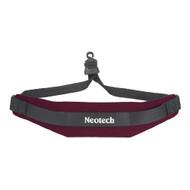 Neotech 1906002 Soft Sax Strap, Wine, Open Hook