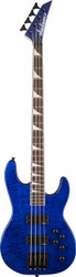 Jackson JS3 Concert Bass Electric Guitar Transparent Blue