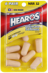 Hearos NRR 32 db Ultimate Softness 6 Pair (5414)