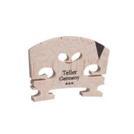Aubert 9142-44 Teller Germany V Insert Semi Fitted Violin Bridge