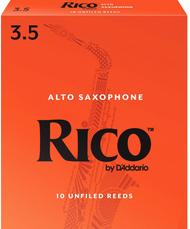 Rico 10-Pack Alto Sax Reeds #3.5 (6B3.5)