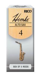 Hemke Alto Sax Reeds, Strength 4.0, 5-pack