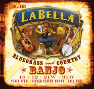 LaBella Banjo Strings Stainless Steel Light (730L-BE)
