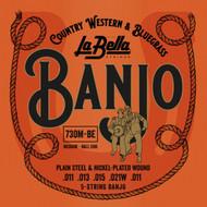 LaBella Banjo Strings Stainless Steel Medium (730M-BE)
