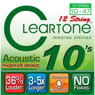 Cleartone Acoustic Phosphor Bronze 10-47 Light 12-String