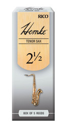 Hemke Tenor Sax Reeds, Strength 2.5, 5-pack