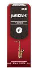 Rico Plasticover Tenor Sax Reeds, Strength 3.5, 5-pack