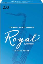 Rico Royal Reeds Tenor Sax 10-Pack 2.0 (7R2)