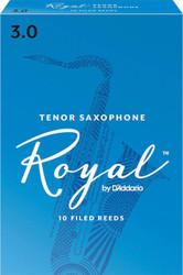 Rico Royal Reeds Tenor Sax 10-Pack 3.0 (7R3)