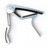 Dunlop Acoustic Trigger® Capo Curved Nickel (83CN) Product Front View